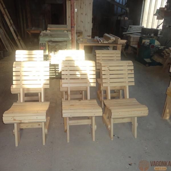 Купить стулья из дерева в Полтаве