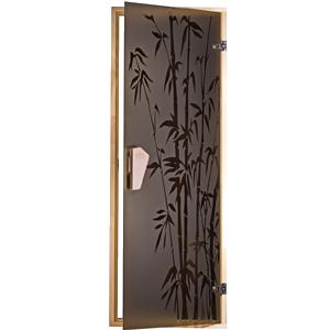Двери для бани и сауны Бамбуковый лес