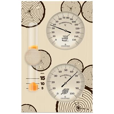 Bannaya stantsiya 22 - Банная станция №2 3 в 1 (гидрометр, термометр, песочные часы)