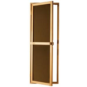 Двери для бани и сауны Bravo Sateen