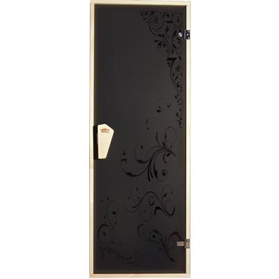 Двери для бани и сауны Гортензия
