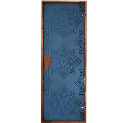 Двери для бани и сауны Сезам Blue