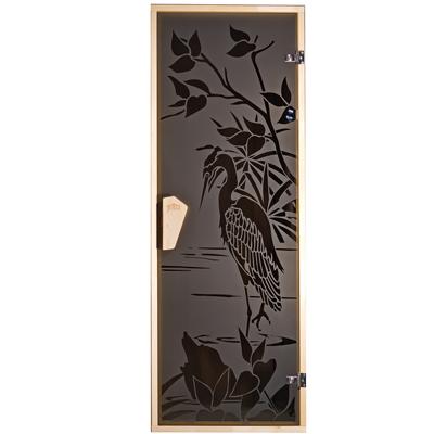 Двери для бани и сауны Цапля