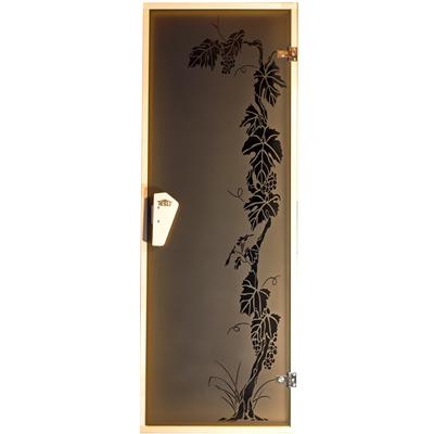 Двери для бани и сауны Виноград