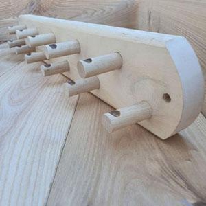 Вешалка 11 крючков липа