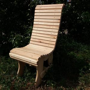 Стул деревянный из реек 1