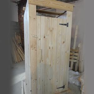 Туалет садовый с сиденьем