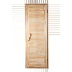 Двери для бани и сауны Зебра