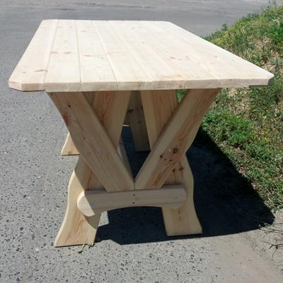 Стол сосна прямой