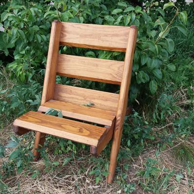 Стул раскладной деревянный